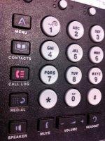 Przyciski telefonu